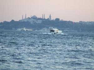 Suleymaniye Mosque and the Bosphorus