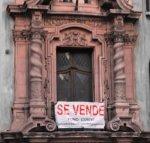 Old building in Santiago, Spain
