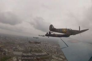 Battle of Britain Memorial Flight, 5 June 2012