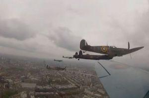 Battle of Britain Memorial Flight, 5 June 2012